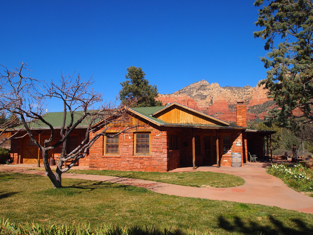 The Sedona Heritage Museum is housed in the former orchard and home of Walter and Ruth Jordan. (Carri Geer Thevenot/Las Vegas Review-Journal)