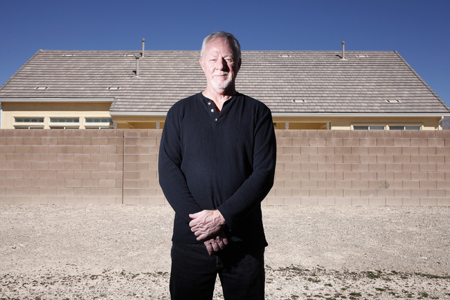 Ralph Christopher poses for a portrait in Las Vegas Wednesday, March 12, 2014. Christopher was a Navy PBR sailor during the Vietnam War.(John Locher/Las Vegas Review-Journal)