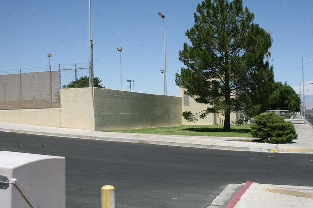 The city of Las Vegas Garside Pool was built in 1971 and presented an obstructed view from the street. (Special to View)