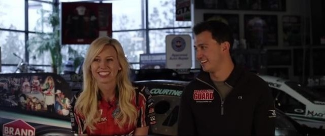 Graham rahal dating courtney force