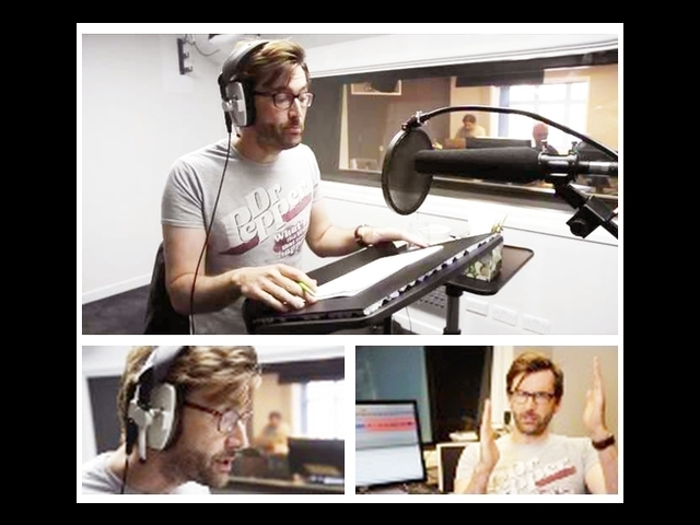 Here is David Tennant narrating an Xbox Kinect game. (Courtesy)