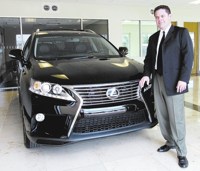 Financial services manager Richard Kaye has been in the automotive business for 24 years. Courtesy photo