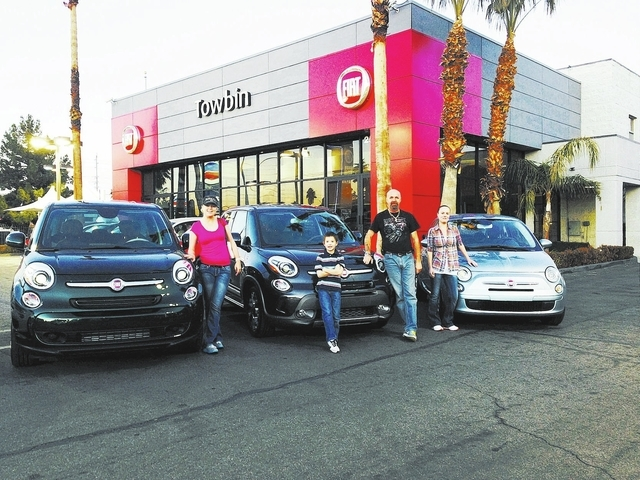 Fiat Las Vegas >> Towbin Test Drive Sells Fiat Safety Features To A Family