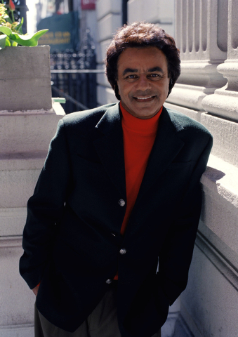 Singer Johnny Mathis heads to The Smith Center for the Performing Arts on May 3. (AP Photo/Jim Cooper)