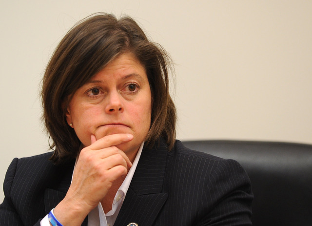 Las Vegas City Manager Betsy Fretwell  (David Becker/Las Vegas Review-Journal)