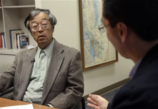 Dorian S. Nakamoto listens during an interview with the Associated Press, Thursday, March 6, 2014 in Los Angeles. Nakamoto, the man that Newsweek claims is the founder of Bitcoin, denies he had an ...
