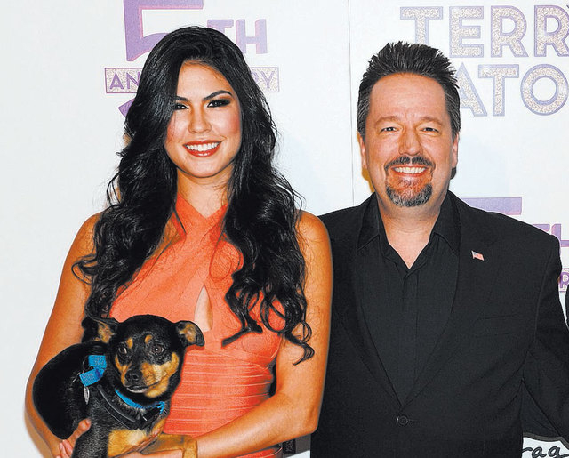 """Mirage headliner Terry Fator, right, and his wife and stage assistant, Taylor Makakoa, will be the first guests of the """"Conversations With Norm"""" interview series on Sunday at Cabaret Jazz at T ..."""