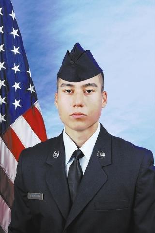 Air Force Airman Jordan A. Holomalia