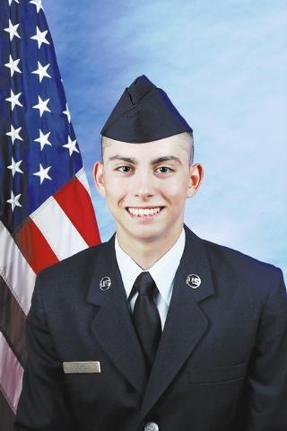Air Force Airman Elijah J. Huckell