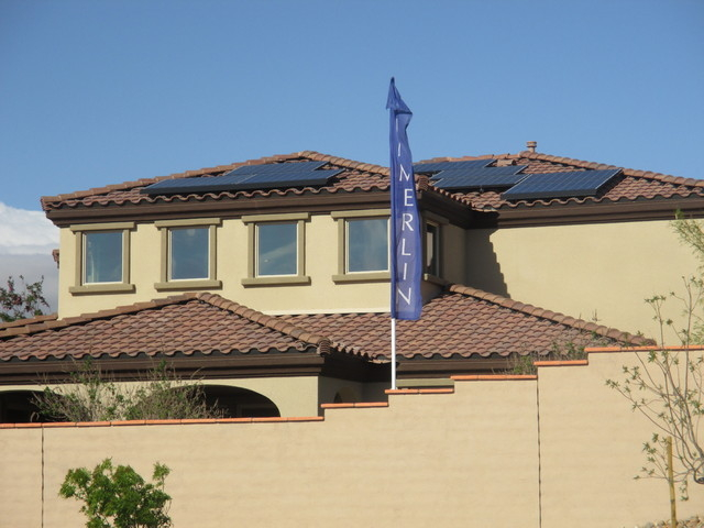 Woodside Homes, which is building in west and northwest Las Vegas and in North Las Vegas, is working with California-based sun-systems provider SolarCity to include photovoltaic panels on all home ...