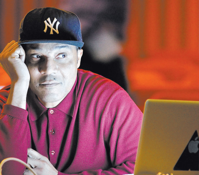 """Frank Gatson Jr., """"Jubilee!"""" director and choreographer, watches a rehearsal at the Jubilee Theater in Bally's. (Bill Hughes/Las Vegas Review-Journal)"""