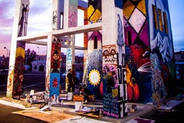 When downtown Las Vegas' Life Cube Project comes to a fiery end Friday, several streets around the 24-foot art display developed by Scott Cohen at Ninth and Fremont streets will be closed to veh ...