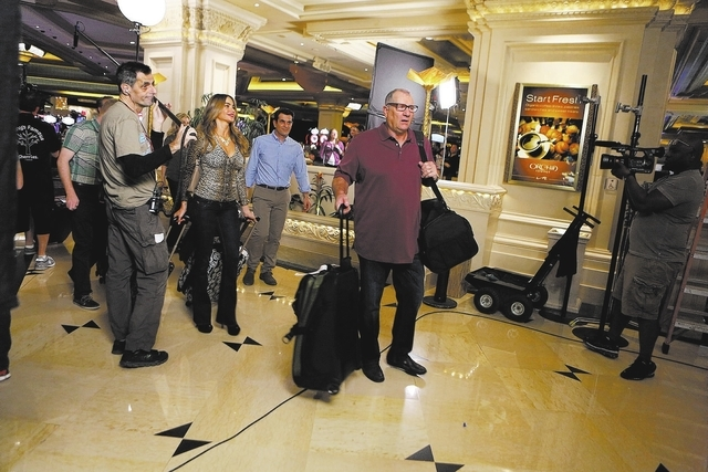 "MODERN FAMILY - ""Las Vegas"" - The adults are Vegas-bound when Jay hooks them up with Excelsior Level hotel accommodations courtesy of one of his big clients, but after learning there's an even hig ..."