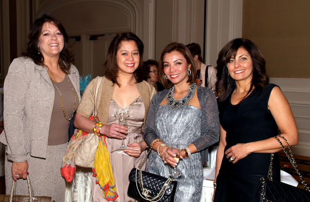 Jacque Parker, from left, Aileen Belizario, Mary Beth Trainor and Sarah Guindy