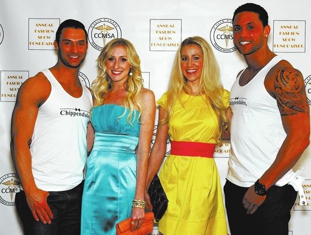 James Davis, from left, Jenny Baker, Katelyn Clemmons and Matt Marshall