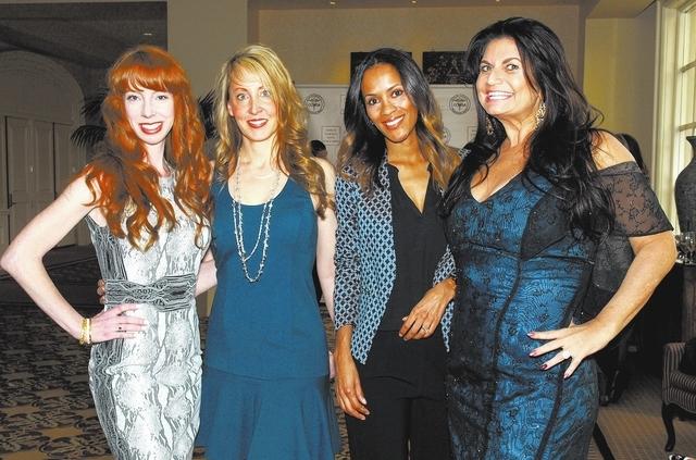 Alexia Crowley, from left, Heidi Grabow, Marisela Altamirano and Kimberly Miles