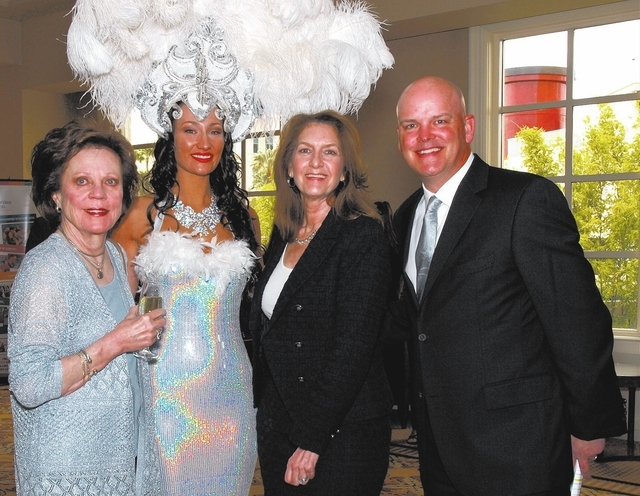 Debbie Swissman, from left, Chanel Thorley, Jodie Diamant and Chet Buchanan