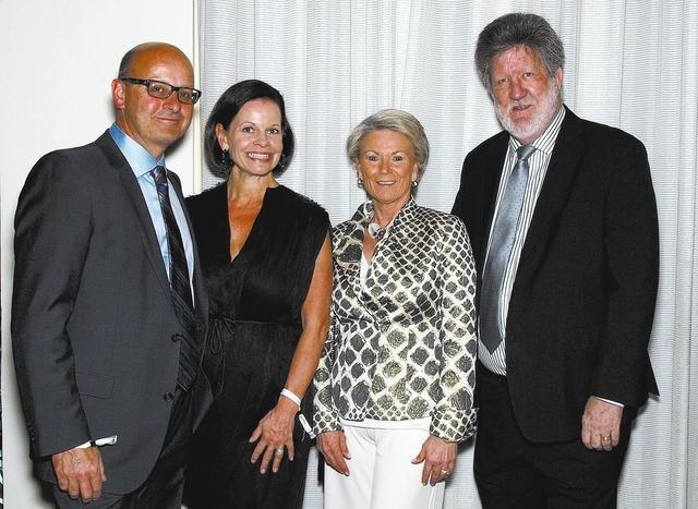 John Mangan, from left, Beth Barbre, and Pat and Bob Mulroy