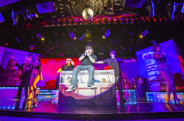 """""""Pawn Shop Live!"""" spoofs the popular TV series """"Pawn Stars."""" The show will move to the Riviera's Starlite Theatre on April 21. (Jeff Scheid/Las Vegas Review-Journal)"""