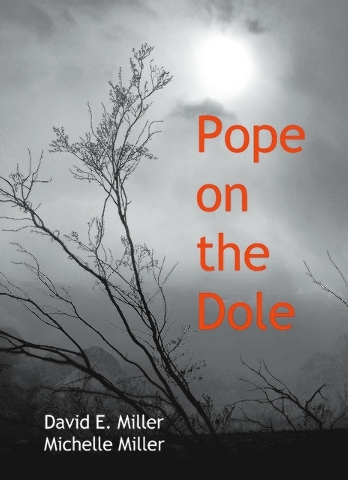 """Pope on the Dole,"" a satirical novel by local authors David E. Miller and Michelle Miller, imagines a world where a bankrupt Catholic Church auctions off everything of worth including the Vat ..."