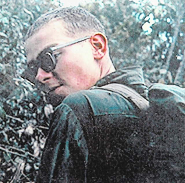 U.S. Army Spc. Ronald P. Schworer, a graduate of Rancho High School, is shown in this undated copied photograph. Schworer was killed in action while stationed in Vietnam on April 10, 1968. (Gary T ...