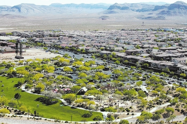 Courtesy photo Exploration Park is at Mountains Edge in the southwest valley. The community was ranked No. 4 fastest-selling master plan in the country by real estate industry research and consult ...
