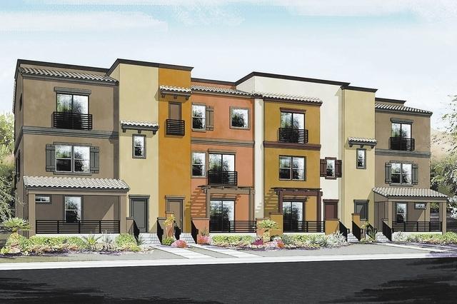 Ryland Homes Showcase Signature Rooftop Decks Las Vegas