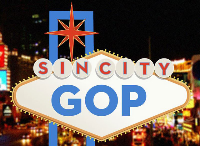"""If Las Vegas wins the 2016 Republican National Convention, American Bridge, a Democratic opposition research and tracking organization, has launched a website, sincitygop.com, to post video by """"tr ..."""