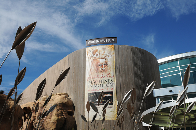 The Origen Museum is one of the attractions at the Springs Preserve. (Erik Verduzco/Las Vegas Review-Journal)