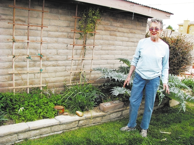 Master Gardener Helen Brown has been gardening since she joined 4-H in 1948. (F. Andrew Taylor/View)