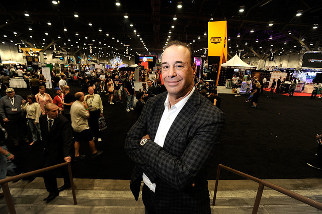 """Jon Taffer, Nightclub & Bar Media Group president and host and co-executive producer of """"Bar Rescue,"""" attends the 28th annual Nightclub & Bar Convention and Trade Show at the Las Vegas Convention  ..."""