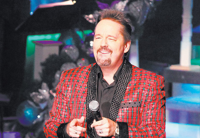 Ventriloquist Terry Fator celebrates the five-year anniversary of his show at The Mirage. (Chase Stevens/Las Vegas Review-Journal file)