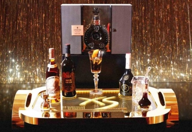 A $5,000 cocktail was debuted last week at XS Nightclub to celebrate the club's 5th anniversary. (File photo)