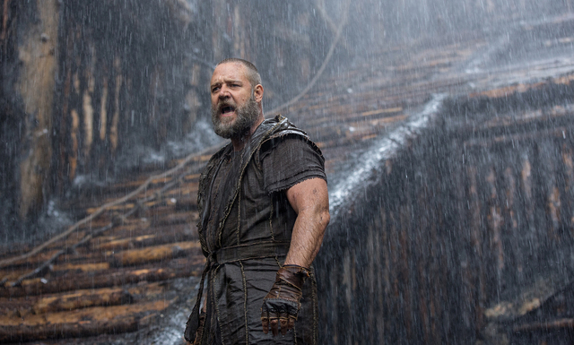 Russell Crowe is Noah in NOAH, from Paramount Pictures and Regency Enterprises. (Courtesy)