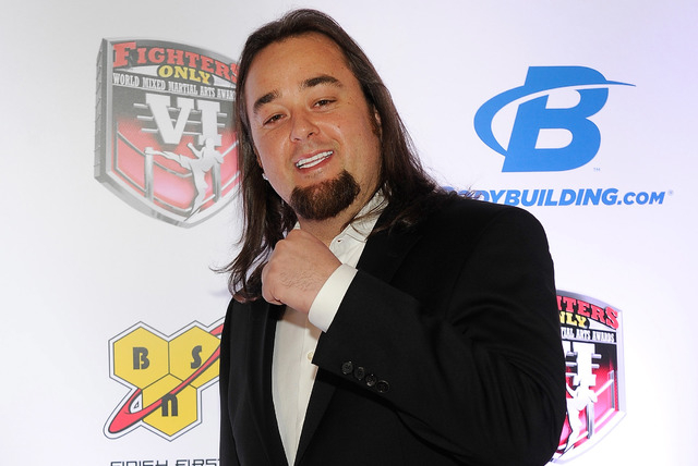 """Austin """"Chumlee"""" Russell has lost at least 100 pounds. """"I get to eat whatever I want once a week,"""" he says. (Photo by David Becker/WireImage)"""
