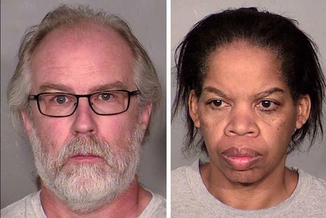 Dwight Solander, left, and Janet Solander. (Courtesy, Las Vegas Metropolitan Police Department)