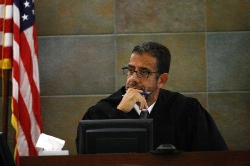 District Judge Michael Villani (Review-Journal File Photo)