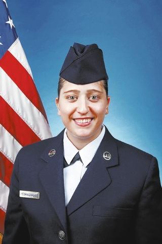 Air Force Reserve Airman 1st Class Sabrina Yeghiazarian