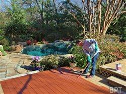 Deck staining secrets for success