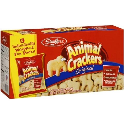 Tonight has been designated Animal Cracker Night around minor league baseball.