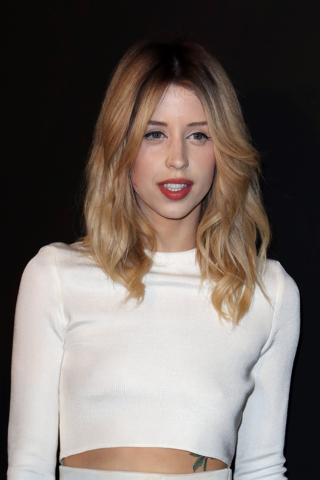 Peaches Geldof arrives on Feb. 25 to attend the ETAM's ready to wear fall/winter 2014-2015 fashion collection presented in Paris. Entertainer Bob Geldof's agent says his 25-year-old daughter Peach ...