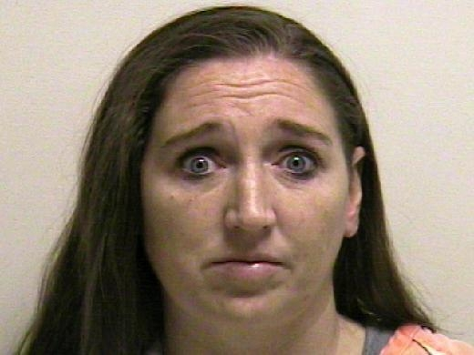 This photo provided by the Utah County jail shows Megan Huntsman, who was booked into the Utah County jail on suspicion of killing six of her newborn children over the past decade. Seven dead babi ...