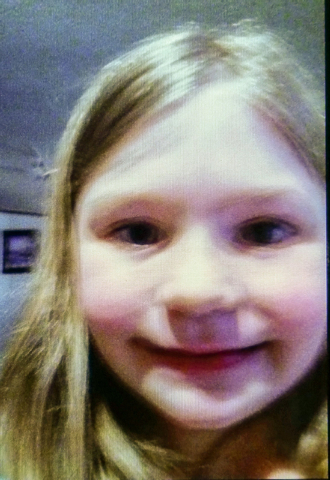 This undated handout image shows  Jade Kimbler, 6.  Officials are searching for Kimbler, her father and her brother, who haven't been heard from  after sending out a text Saturday that they were l ...