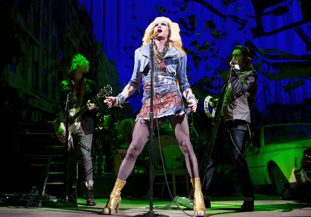 """FILE - This file image released by Boneau/Bryan-Brown shows Neil Patrick Harris in a scene from """"Hedwig and the Angry Inch,"""" at the Belasco Theatre in New York. """"Hedwig and the Angr ..."""
