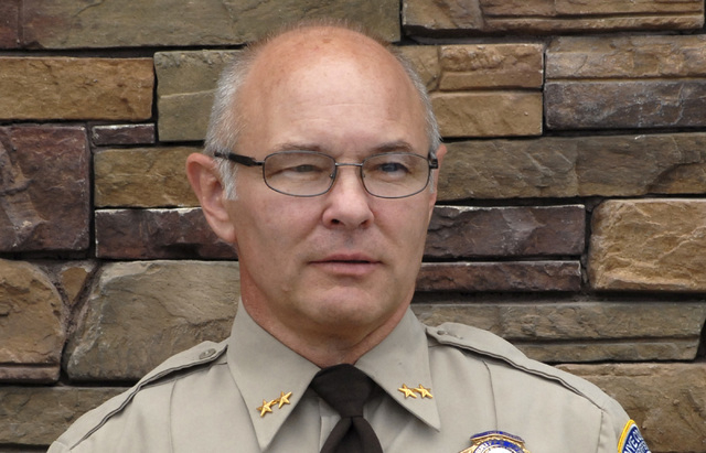 Nye County Assistant Sheriff Rick Marshall (Courtesy/Horace Langford Jr., Pahrump Valley Times)