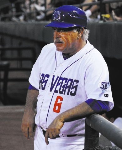 Manager Wally Backman has led the 51s to a 15-5 record, the best 20-game start in franchise history, after a 21-9 home win over El Paso on Tuesday. (Jason Bean/Las Vegas Review-Journal File)