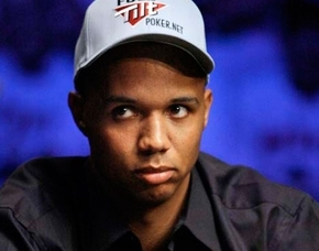 In this 2009 file photo, Phil Ivey looks up during a hand at the final table of the World Series of Poker at the Rio in Las Vegas. Ivey has been sued in federal court by the Borgata in Atlantic Ci ...
