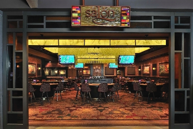 A high roller room at a Pinnacle Entertainment property is seen here. The Las Vegas based company announced plans Monday to raise up to $800 million in new debt to help the company complete its bu ...