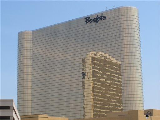 The Borgata's gaming revenue was up 13.2 percent to $47.6 million. (AP Photo/Wayne Parry)