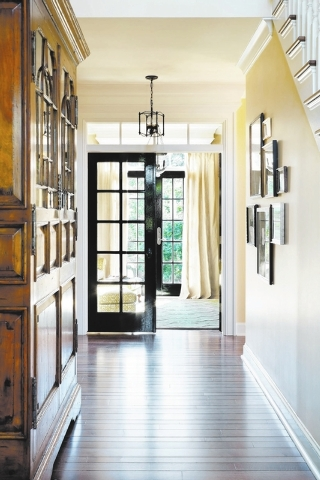 Your hallways are most likely unmined decorating opportunities, just waiting to be given the same flare that fills the rest of your home. (Bob Greenspan/MCT)